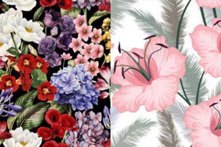 Diseño para sublimar Floreados